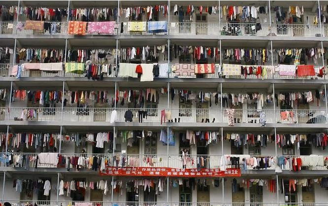 Hình ảnh một khu chung cư ở Trung Quốc (ảnh tư liệu)