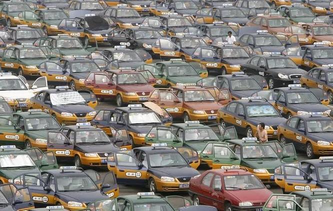 Đường phố Trung Quốc (ảnh tư liệu)