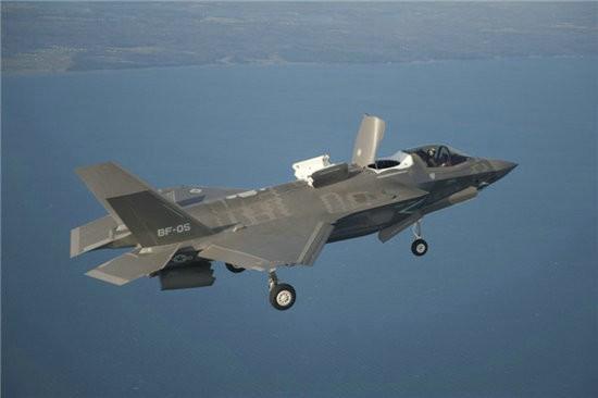 Máy bay chiến đấu tàng hình thế hệ thứ năm F-35. Ảnh: Sohu