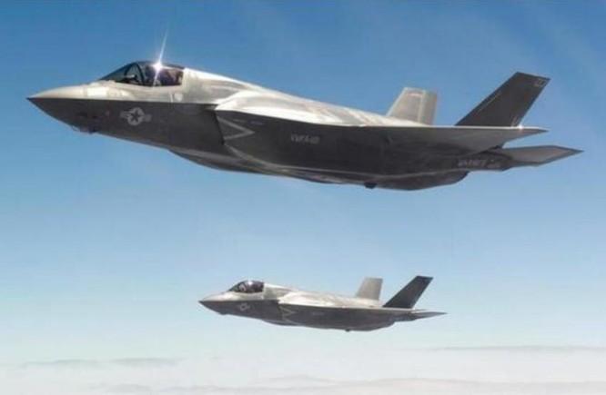 Máy bay chiến đấu tàng hình thế hệ thứ năm F-35. Ảnh: Sina