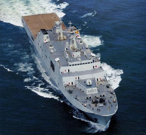 Tàu đổ bộ cỡ lớn Type 071 Hải quân Trung Quốc (ảnh tư liệu)