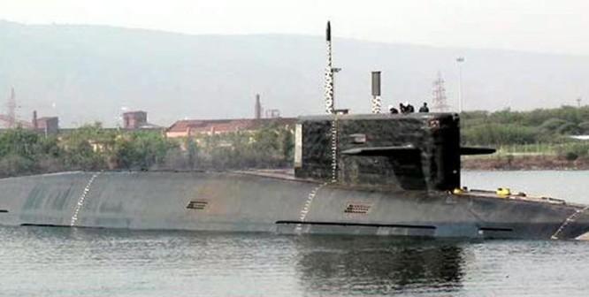 Tàu ngầm hạt nhân chiến lược INS Arihant Ấn Độ. Ảnh: USNI News