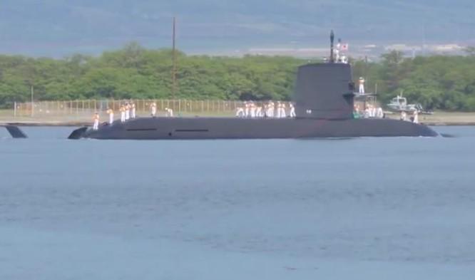 Tàu ngầm thông thường AIP lớp Soryu của Lực lượng Phòng vệ Biển Nhật Bản (ảnh tư liệu)