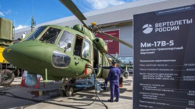 Máy bay trực thăng Mi-17V-5 của Nga. Ảnh: Cankao
