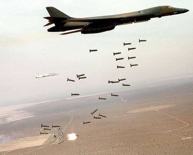 Máy bay ném bom chiến lược B-1 Lancer Mỹ (ảnh tư liệu)