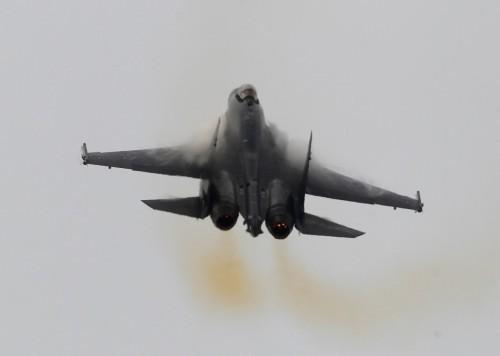 Máy bay chiến đấu Su-35 Nga (ảnh tư liệu)