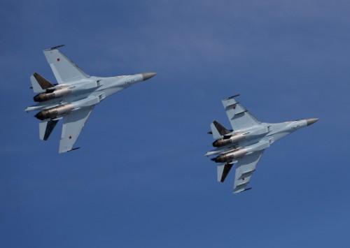 Máy bay chiến đấu Su-35S Nga (ảnh tư liệu)