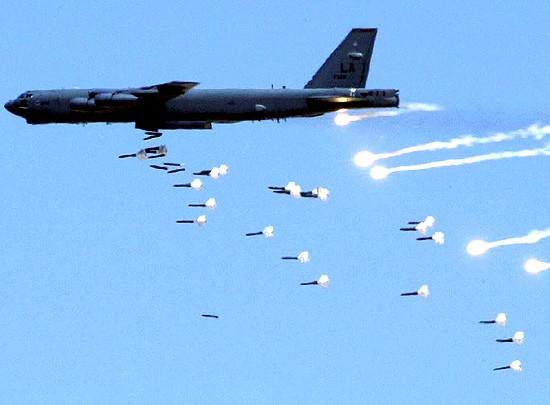 Mỹ có thể triển khai máy bay ném bom chiến lược B-52 ở Hàn Quốc (ảnh tư liệu)
