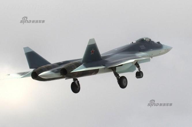 Máy bay chiến đấu T-50 Nga hiện nay (ảnh tư liệu)