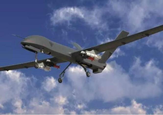 Máy bay tấn công không người lái Thái Hồng-4 (CH-4) Trung Quốc. Ảnh: Sina