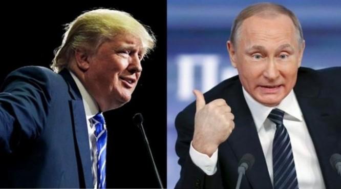 Tổng thống Mỹ Donald Trump và Tổng thống Nga Vladimir Putin. Ảnh: Indian Express