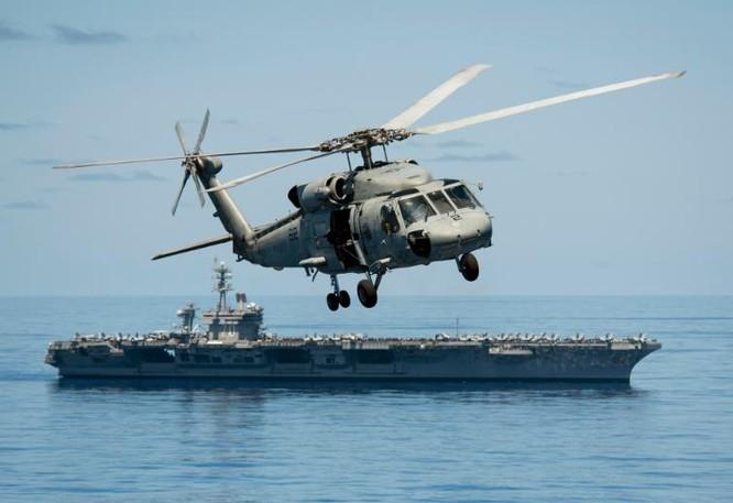 Tàu sân bay động cơ hạt nhân USS Carl Vinson, Hải quân Mỹ (ảnh tư liệu)
