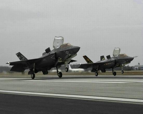 Mỹ đã triển khai 10 máy bay chiến đấu tàng hình F-35B ở Nhật Bản (ảnh tư liệu)