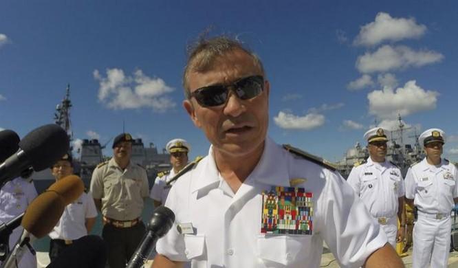 Đô đốc Harry Harris, Tư lệnh Bộ Tư lệnh Thái Bình Dương, Quân đội Mỹ (ảnh tư liệu)