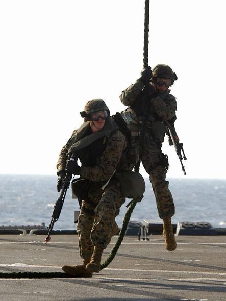 Binh sĩ Thủy quân lục chiến Mỹ (ảnh tư liệu)