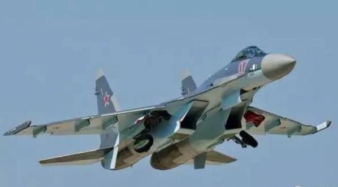 Máy bay chiến đấu Su-35SK. Ảnh; Sina