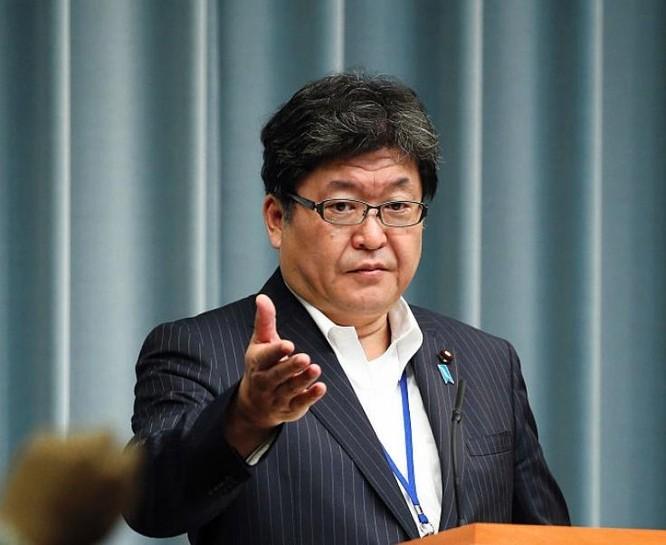 Phó Chánh văn phòng nội các Nhật Bản Koichi Hagiuda. Ảnh: Getty Images