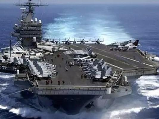 Tàu sân bay động cơ hạt nhân USS Carl Vinson, Hạm đội 3, Hải quân Mỹ. Ảnh: Newsjs