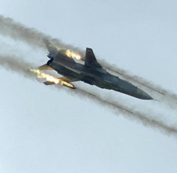 Nga tham chiến tại chiến trường Syria (ảnh tư liệu)