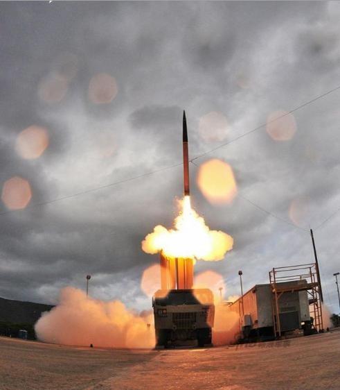 Hệ thống phòng thủ khu vực tầm cao đoạn cuối (THAAD) Mỹ. Ảnh: Sina.