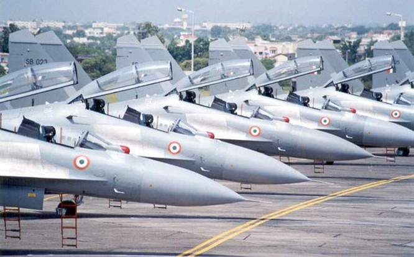 Máy bay chiến đấu Su-30MKI Không quân Ấn Độ, mua của Nga (ảnh tư liệu)