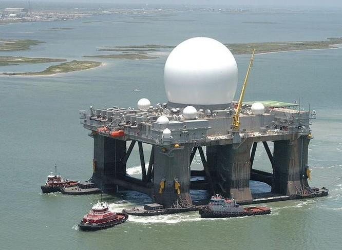 Radar sóng ngắn X Mỹ (ảnh tư liệu)