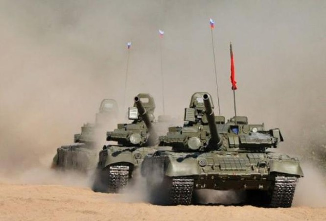 Lực lượng xe tăng Nga. Ảnh: guancha