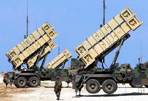 Hệ thống tên lửa phòng không Patriot của Quân đội Đài Loan (ảnh tư liệu)