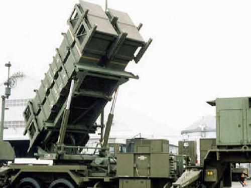 Tên lửa phòng không Patriot của Lực lượng Phòng vệ Nhật Bản (ảnh tư liệu)