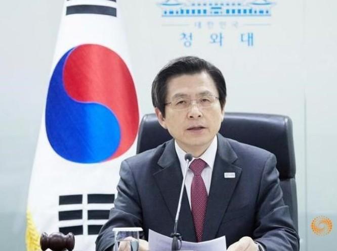 Quyền Tổng thống Hàn Quốc Hwang Kyo-ahn. Ảnh: Reuters