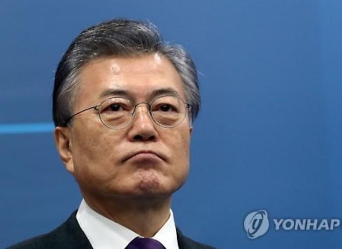 Ông Moon Jae-in, cựu chủ tịch đảng Dân chủ đồng hành Hàn Quốc, ứng cử viên tiềm năng cho chức Tổng thống Hàn Quốc khóa tới. Ảnh: Yonhap