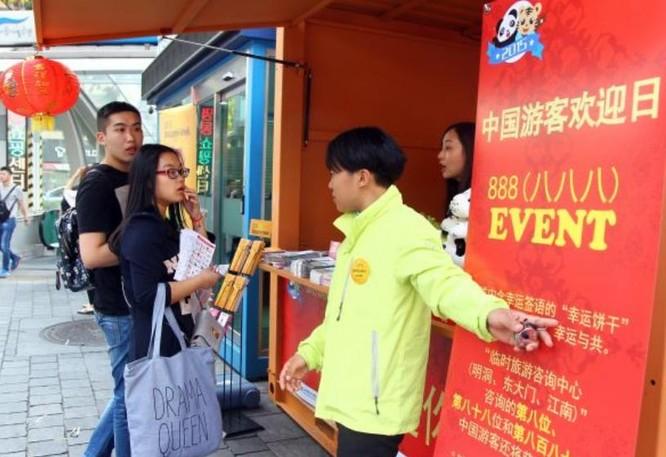 Du khách Trung Quốc đi du lịch Hàn Quốc. Ảnh: Cankao