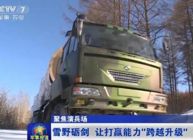 Đài truyền hình CCTV7 Trung Quốc công bố các hình ảnh một lữ đoàn trang bị tên lửa đạn đạo xuyên lục địa Đông Phong-31A của Lực lượng tên lửa Trung Quốc tiến hành huấn luyện trong thời điểm Ngoại trưởng Mỹ Rex Tillerson đến thăm Trung Quốc (ngày 18 - 19/3/2017. Ảnh: CCTV/Sina