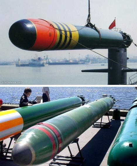 Ngư lôi Trung Quốc. Ảnh: Sina
