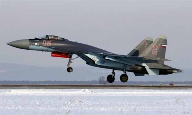 Máy bay chiến đấu Su-35 do Nga chế tạo (ảnh tư liệu)