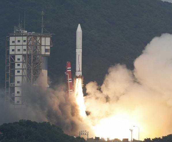 Tên lửa đẩy Epsilon của Nhật Bản (ảnh tư liệu)