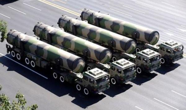 Tên lửa đạn đạo xuyên lục địa Đông Phong-31A Trung Quốc (ảnh tư liệu)