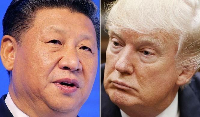Chủ tịch Trung Quốc Tập Cận Bình và Tổng thống Mỹ Donald Trump. Ảnh: Washington Times