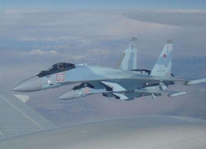 Máy bay chiến đấu Su-35 do Nga chế tạo. Ảnh: Cankao