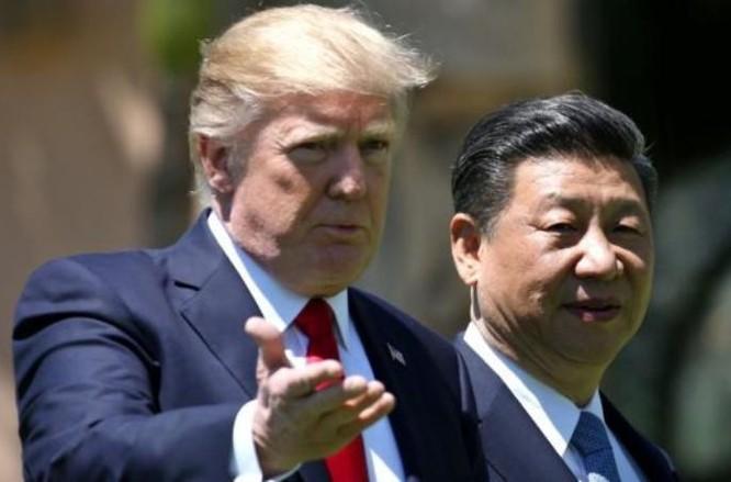 Ngày 7/4/2017, Tổng thống Mỹ Donald Trump và Chủ tịch Trung Quốc Tập Cận Bình tiến hành hội đàm ở bang Florida, Mỹ. Ảnh: Reuters