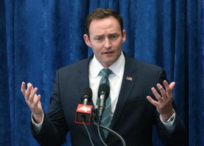 Phó Trợ lý Ngoại trưởng Mỹ Patrick Murphy. Ảnh: Washington Free Beacon