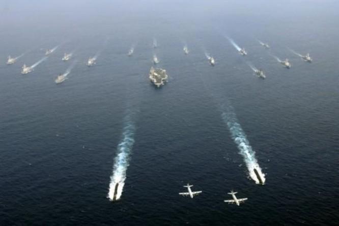 Cụm tấn công tàu sân bay Hải quân Mỹ (ảnh tư liệu)