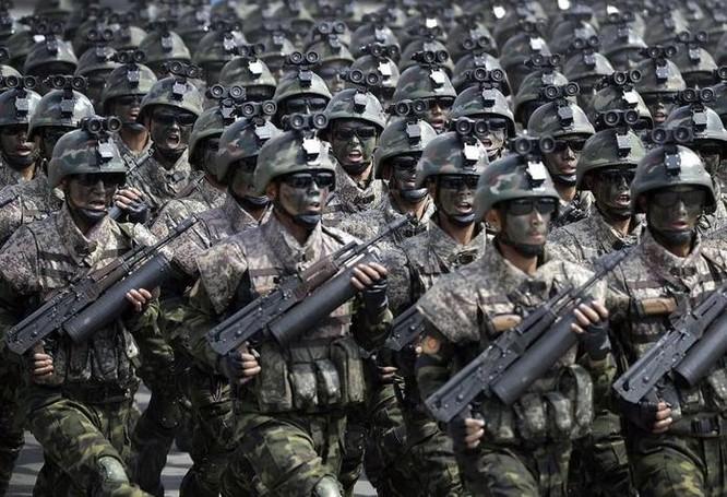 Lực lượng đặc nhiệm Triều Tiên. Ảnh: Cankao