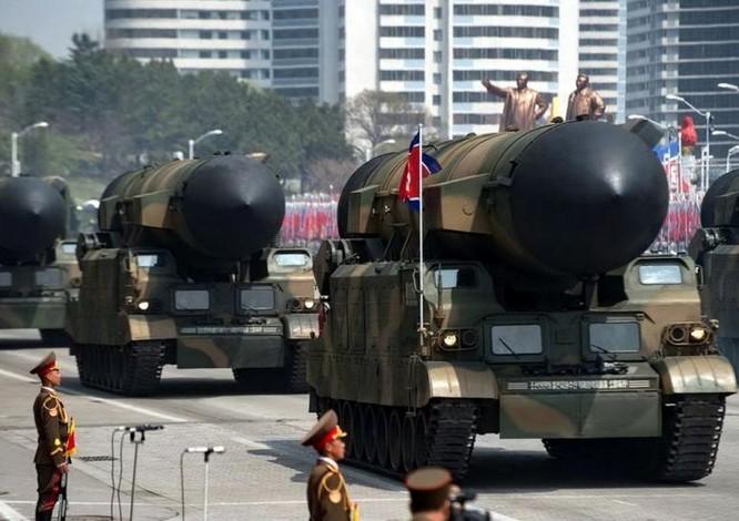 Tên lửa đạn đạo Pukguksong-2 Triều Tiên. Ảnh: Cankao
