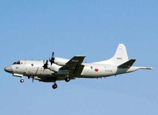 Máy bay tuần tra săn ngầm P-3C Nhật Bản (ảnh tư liệu)