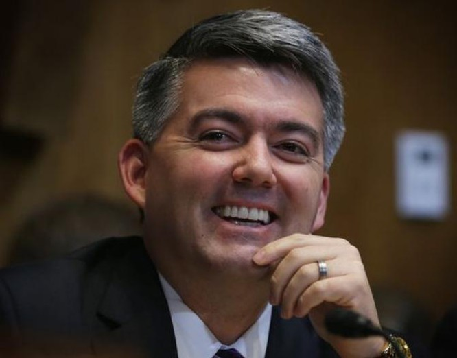Ông Cory Gardner, Chủ tịch Tiểu ban Đông Á, Ủy ban Quan hệ đối ngoại, Thượng viện Mỹ. Ảnh: USA Today