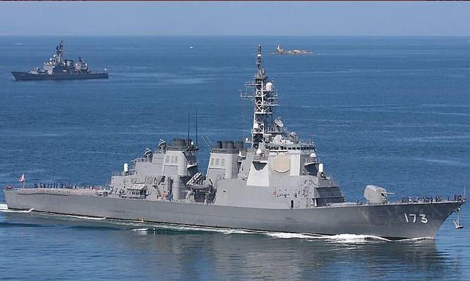 Tàu khu trục Aegis lớp Kongo của Lực lượng Phòng vệ Biển Nhật Bản (ảnh tư liệu)