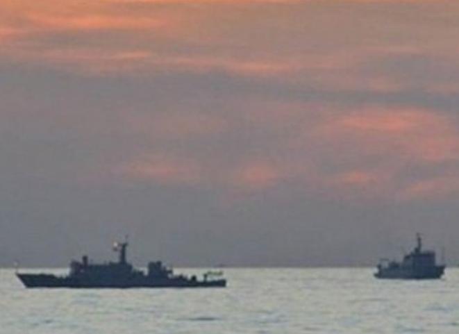 Tàu tuần tra Trung Quốc lởn vởn ở vùng biển bãi cạn Scarborough (ảnh tư liệu)