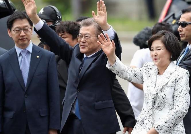 Tân Tổng thống Hàn Quốc Moon Jae-in. Ảnh: Washington Times