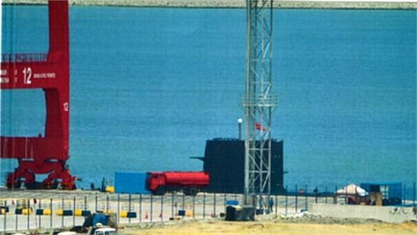 Tàu ngầm thông thường Type 039 Trung Quốc cập cảng Colombo, Sri Lanka (ảnh tư liệu)